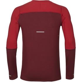 asics Thermopolis Plus LS Shirt Herren cordovan/samba